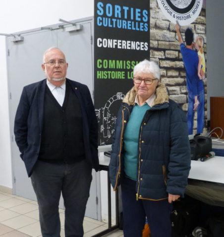 Marcel FEUILLET et Mireille RIVIER - Responsables de la commission histoire locale