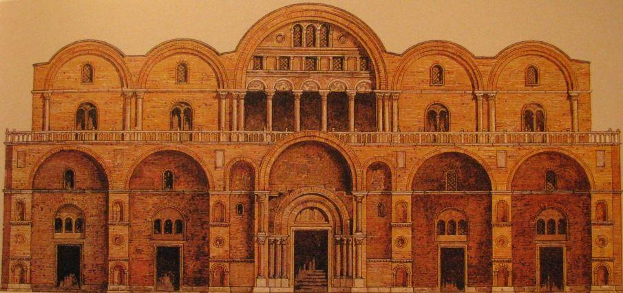 Après l'incendie, les reconstructions de 976-1094
