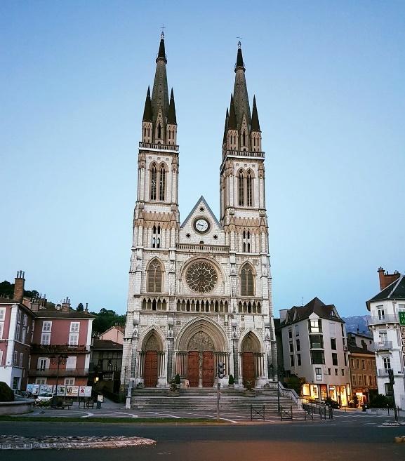 Eglise Saint-Bruno à Voiron (Isère)