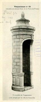 Vespasienne grenobloise