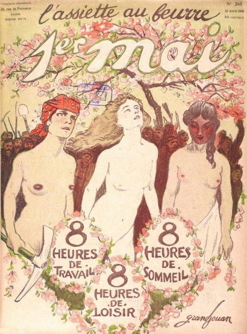 Couverture du magazine satirique illustré ''L'Assiette au beurre'' du 28 avril 1906