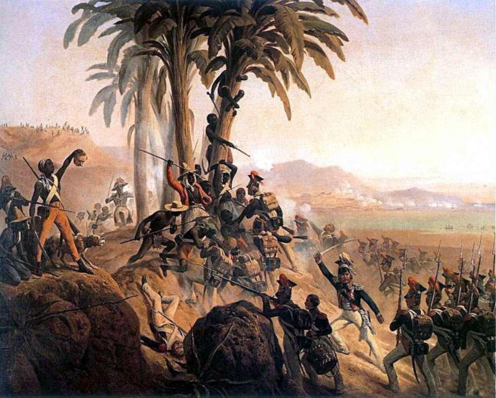 La bataille de Saint-Domingue